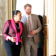 Patricia Scotland The Duke Of Sussex Attends Commonwealth Youth Roundtable