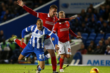 Patrick Bauer Brighton and Hove Albion v Charlton Athletic - Sky Bet Championship