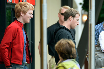 Patrick Collison Business Leaders Meet in Sun Valley for Conference