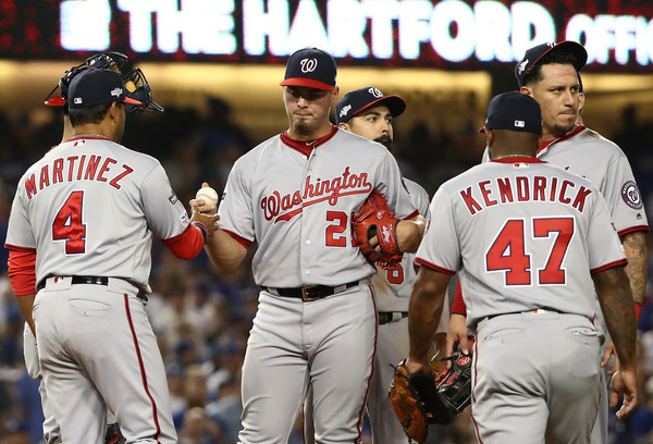 Divisional Series - Washington Nationals vs Los Angeles Dodgers - Game One