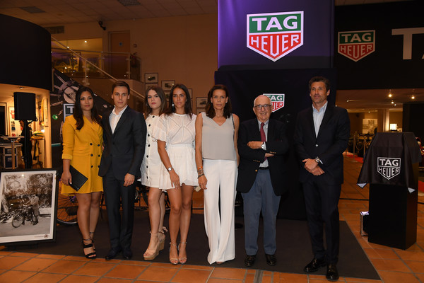 Patrick Dempsey And Marie Chevallier Photos Photos Tag Heuer Hosts