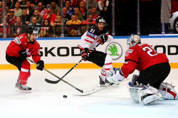 Patrick Geering Switzerland v Canada - 2015 IIHF Ice Hockey World Championship