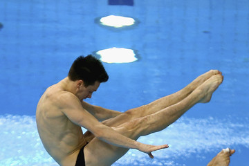Patrick Hausding FINA/NVC Diving World Series: Day 1
