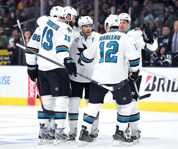 San Jose Sharks v Los Angeles Kings - Game One