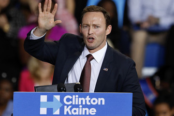 Patrick Murphy President Obama Campaigns For Hillary Clinton In Florida