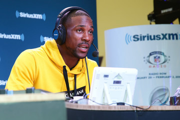 Patrick Peterson SiriusXM at Super Bowl LII