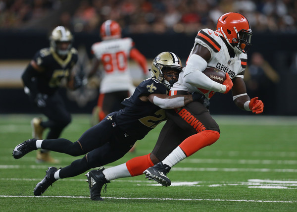 Cleveland Browns vs. New Orleans Saints