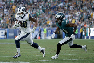 Patrick Robinson Philadelphia Eagles v Los Angeles Rams