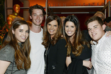 Patrick Schwarzenegger Christina Schwarzenegger 'Paycheck to Paycheck' Reception in Hollywood