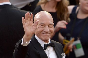 Patrick Stewart 90th Annual Academy Awards - Fan Arrivals