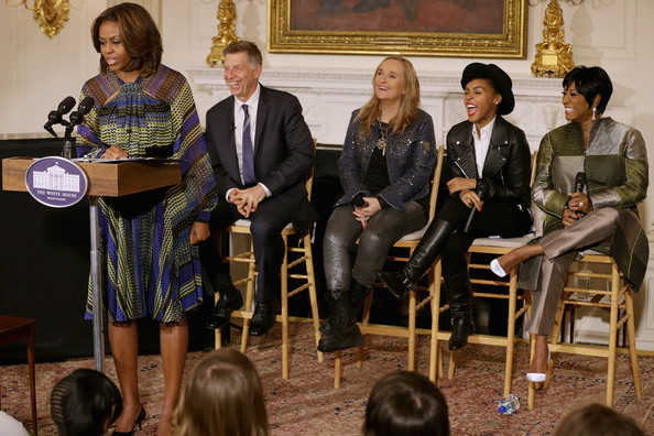 Michelle Obama Hosts Women in Soul Music Workshop []