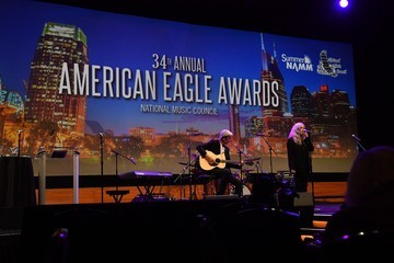 Patti Smith American Eagle Awards Honoring Crystal Gayle, Patti Smith, and Harry Shearer