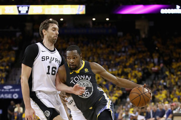 Pau Gasol San Antonio Spurs v Golden State Warriors - Game Two