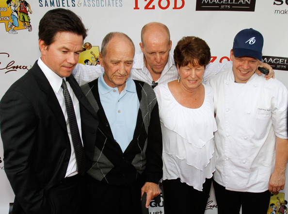 Paul Wahlberg (L-R) Actor Mark ...