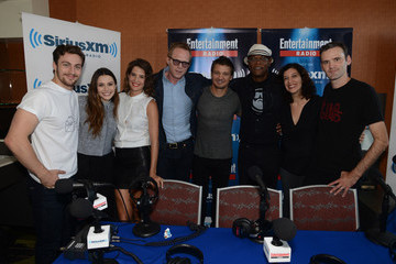Paul Bettany Elizabeth Olsen SiriusXM's Entertainment Weekly Radio Channel Broadcasts From Comic-Con 2014