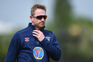 Paul Collingwood Derbyshire Vs. Durham - Specsavers County Championship: Division Two