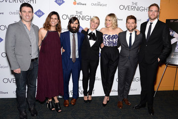 Paul Davidson Celebrities Attend 'The Overnight' New York Premiere
