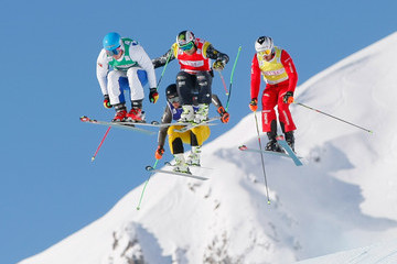 Paul Eckert FIS Freestyle Ski World Cup: Men's and Women's Ski Cross