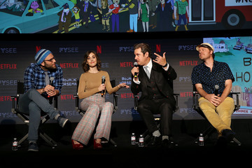 Paul F. Tompkins Mike Hollingsworth #NETFLIXFYSEE Animation Panel Featuring 'Big Mouth' And 'BoJack Horseman' - Inside