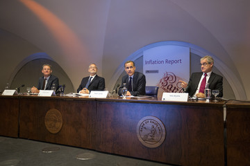 Paul Fisher Mark Carney Holds First Inflation Report News Conference