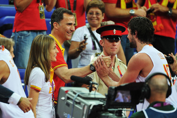 Paul Gasol Olympics - Day 14 - Royals at the Olympics