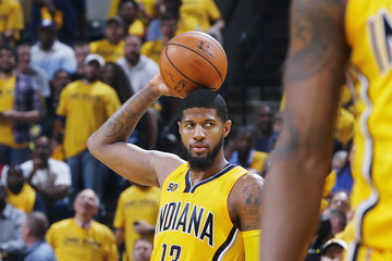 Paul George Cleveland Cavaliers v Indiana Pacers - Game Three