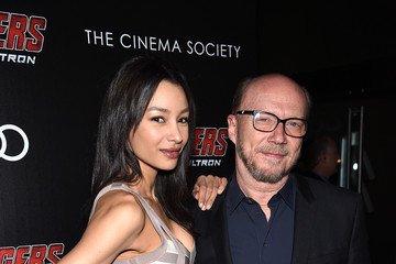 Paul Haggis The Cinema Society Screening Of Marvel's 'Avengers: Age of Ultron' - Arrivals