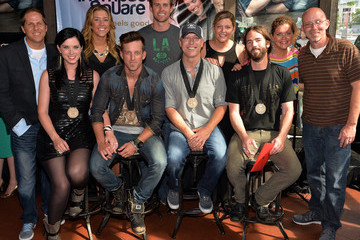 Paul Jenkins Thompson Square Celebrate Their #1 Song