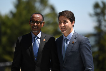 Paul Kagame Heads Of State Attend G7 Meeting - Day Two