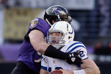 Paul Kruger Wild Card Playoffs - Indianapolis Colts v Baltimore Ravens