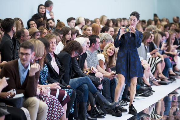 Paul McCartney - Day 2: Front Row - London Fashion Week SS15