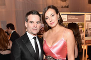 Jeff Gordon and Ingrid Vandebosch  attend the 2017 Baby2Baby Gala at 3LABS on November 11, 2017 in Culver City, California.