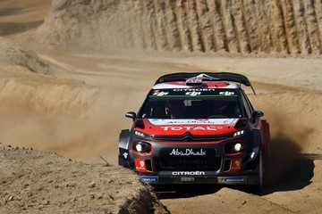 Paul Nagle FIA World Rally Championship Portugal - Day One