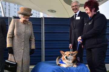 Paul O'Grady Queen Elizabeth II Visits Battersea Dogs and Cats Home