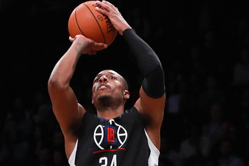 Paul Pierce Los Angeles Clippers v Brooklyn Nets