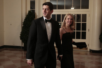 Paul Ryan Guests Arrive For White House State Dinner In Honor Of French President