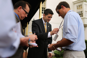 Paul Ryan House Republican Leadership Speaks to the Press After Conference Meeting