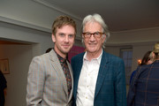 Dan Stevens (L) and Paul Smith attend Paul Smith's intimate dinner with Gary Oldman at Chateau Marmont on April 10, 2018 in Los Angeles, California.