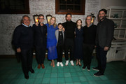 (L-R) Paramount Pictures Chairman and CEO Jim Gianopulos, Paul Thomas Anderson, Emily Blunt, Noah Jupe, John Krasinski, Millicent Simmonds, Brad Fuller and Andrew Form attend a special screening of ?A Quiet Place? at The Hearth and Hound on November 27, 2018 in Los Angeles, California.