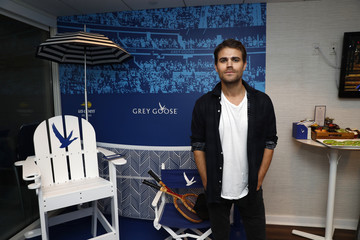 Paul Wesley Grey Goose Toasts #HoneyDeuce Season At The 50th Annual US Open