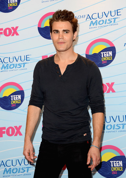 Paul Wesley Actor Paul Wesley, winner of Choice Fantasy/Sci-Fi Show award, poses in the press room during the 2012 Teen Choice Awards at Gibson Amphitheatre on July 22, 2012 in Universal City, California.