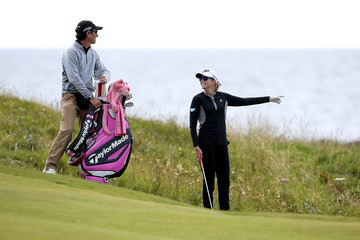 Paula Creamer Ricoh Women's British Open - Previews