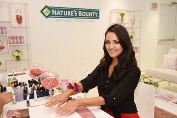 Paula Garces Nature's Bounty at GBK Production Style Lounge
