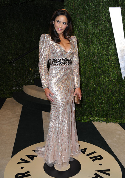 Paula Patton - 2013 Vanity Fair Oscar Party Hosted By Graydon Carter - Arrivals