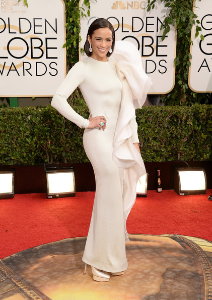 Paula Patton - 71st Annual Golden Globe Awards - Arrivals