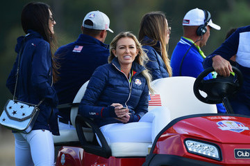 Paulina Gretzky 2018 Ryder Cup - Afternoon Foursome Matches
