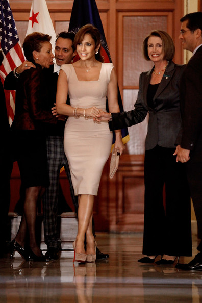 Pelosi Meets With Jennifer Lopez And Marc Anthony Over Hispanic