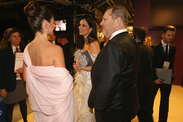 Penelope Cruz Backstage at the 86th Annual Academy Awards