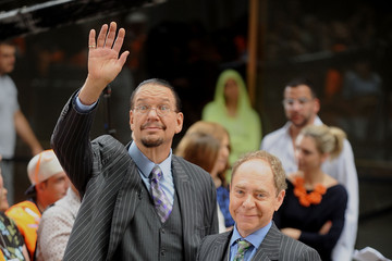 Penn Jillette Boy George Performs on NBC's 'Today'