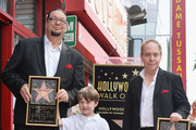 Magician Penn Jillette, Zolten Penn Jillette, Moxie Crimefighter Jillette and magician Teller attend a ceremony honoring Penn & Teller with the 2,494th star on the Hollywood Walk of Fame on April 5, 2013 in Hollywood, California.